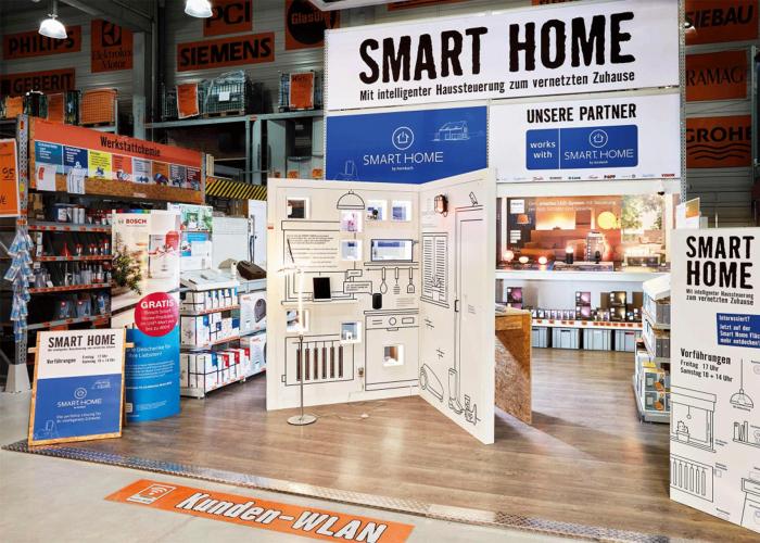 """Projektschaufläche """"Smart Home"""""""