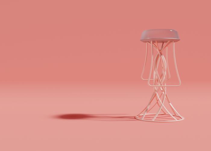 Jellyfish Barstool
